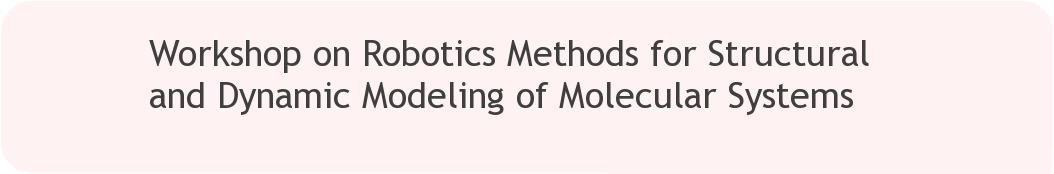 RSS 2014 Workshop | Workshop on Robotics Methods for