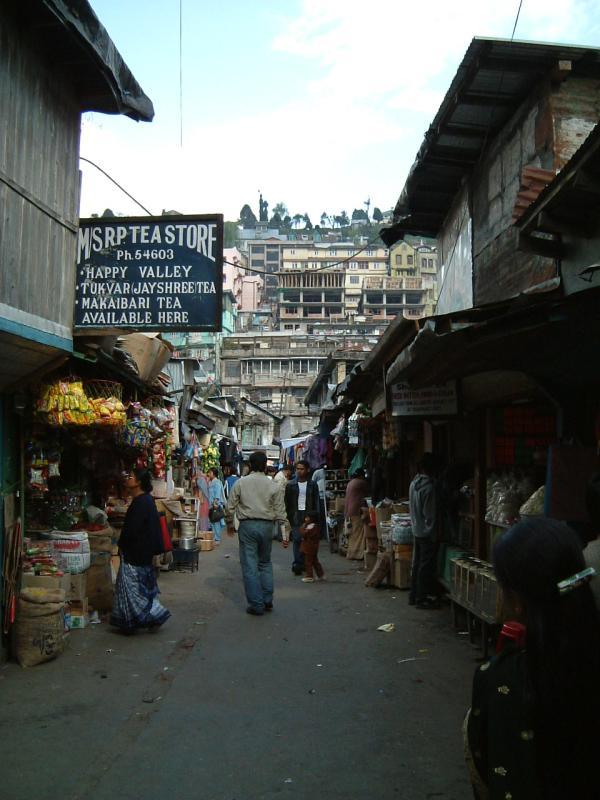 A Darjeeling Street Scene
